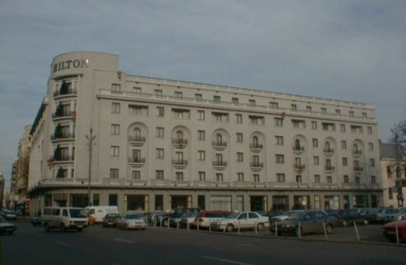 Athenee Palace Hilton, Bucharest, Romania